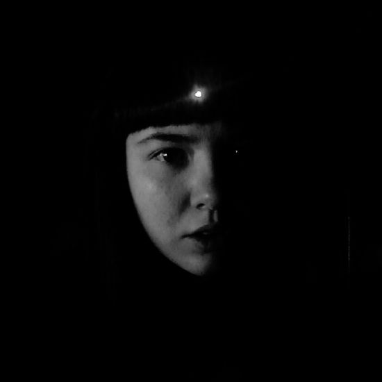 inst: valek_cheburek Young Dark Noir Depersonalization Light Weird Girl Crazy Russia Abstract Black And White Young Adult Composition Night Lights Lonely Abstract Photography Black Background Portrait Human Eye Looking At Camera Human Face Headshot Close-up Vision Darkroom Film Noir Style