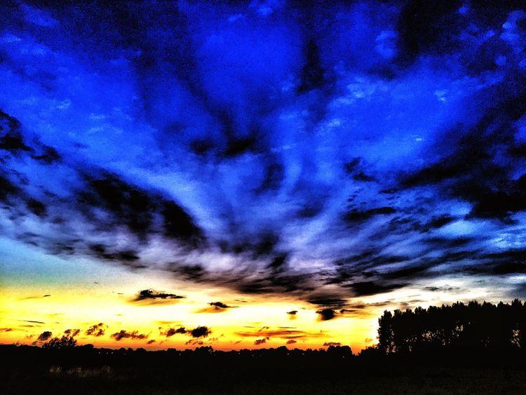 Sunset Endofday Landscape
