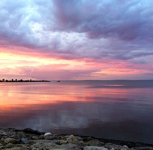 Lake Winnipeg Sunset Beauty In Nature Cloud - Sky Horizon Over Water Lake Nature No People Outdoors Reflection Scenics Shorline Sky Sunset Tranquil Scene Tranquility Travel Destinations Water