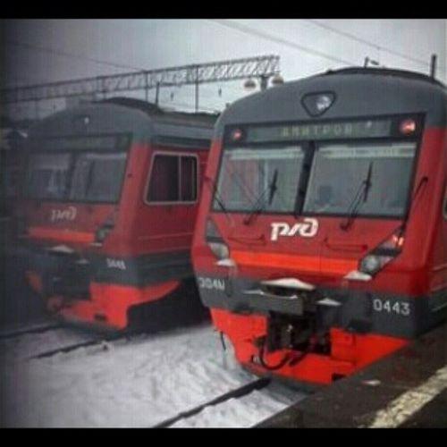Squareinstapic ЗимаВернулась вернитевесну поездато СавеловскийВокзал @msk.daily