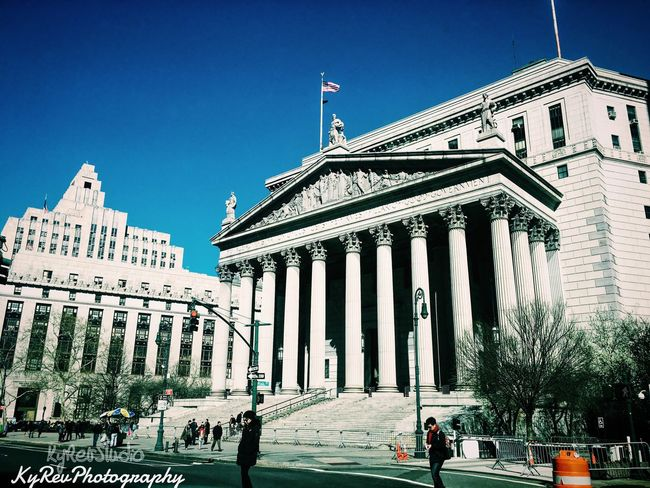 New York Check This Out Manhattan VSCO Cam VSCO Shot On IPhone 6s Join The Revolution Awesome Taking Photos KyRevPhotography Join Our Revolution Working Photography Photo By Me Shot By Me Eye4photography  Government Building City Hall
