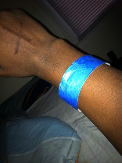 Had The Drinking Band On Lastnight At The Club