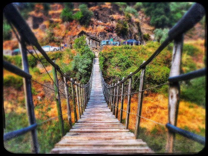 Bridge Woodbridge Portugal Serradaestrela Piodao HDR Summer