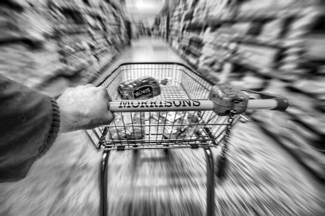 Black & White Blak And White Busy Busy Day Food Human Hand London Morrison Morrisons Morrisons Supermarket Morrisons Supermarket Ormskirk Off Licence People Sainsburys Sashalmi Shop Shoping Shopping Shopping Cart Shopping Mall Shopping Time Shopping ♡ Shops Trolley Uk