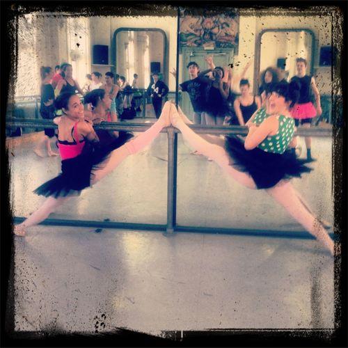 Last ballet lesson! #training Dancing Splits Barre