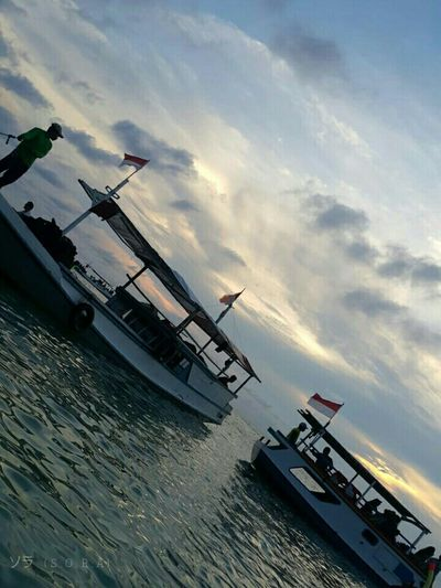 Damn I Love INDONESIA Sky Porn Stunning Sky Popular Photos Vacation Seaside Travel First Eyeem Photo Had Fun