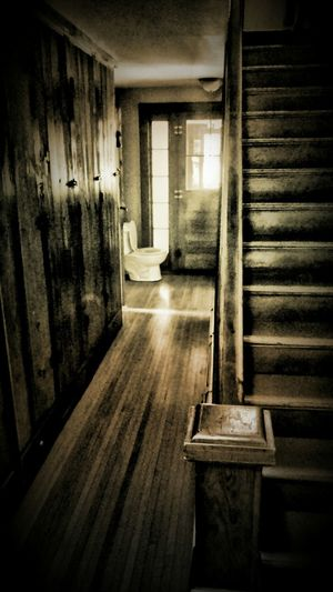 Feeling out off place... Myperspective Cabin Life Oddities The Potty Blackandwhite