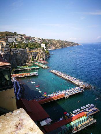 Sea Water Outdoors Day Beach Multi Colored Nature Harbor Sky Sorrento Sorrento, Italia Sorrentocoast