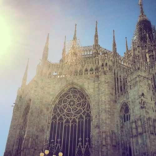 The amazing cathedral in Milan, Italy! Duomodemilano Italy Travelphotos