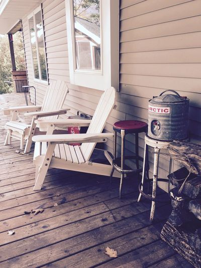 Adirondack Chairs Front Porch Home Sweet Home River House Living Life Retreat