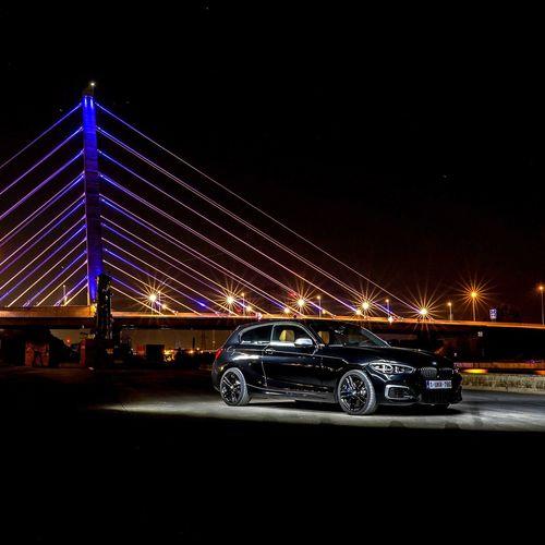 Light up the night! M140i Bmw Transportation Bridge Bridge - Man Made Structure Connection Illuminated Night Architecture