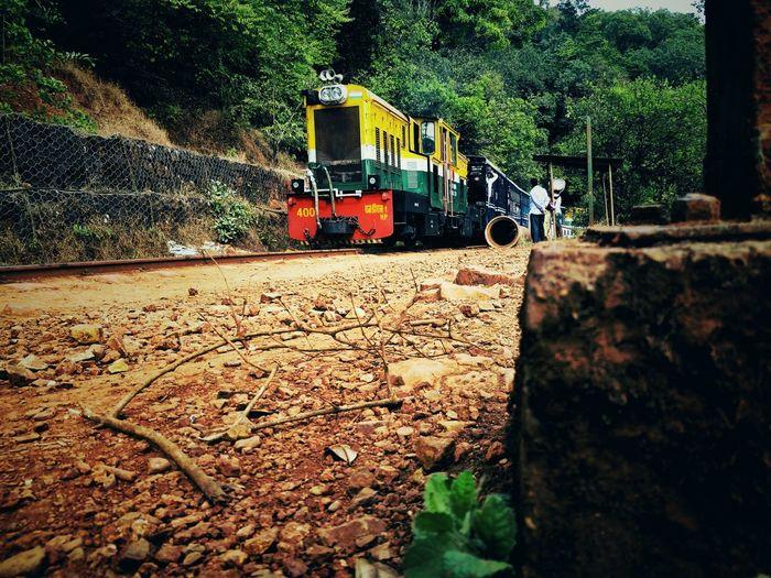 Konkandiaries Indian Railway  Railroad Track Serenity Sky