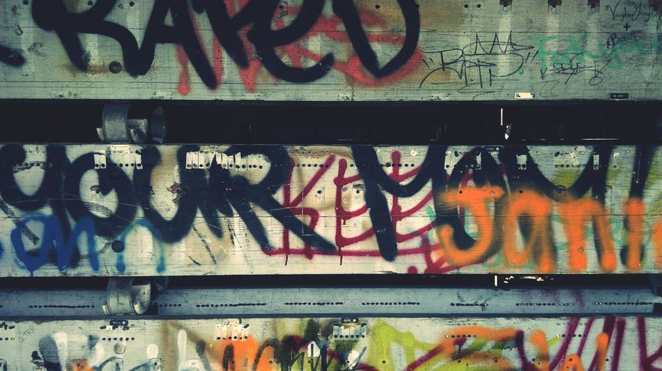 Notes From The Underground Graffiti