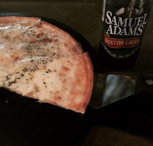 Samuel Adams Pizza Gorgonzola 😍😍 First Eyeem Photo