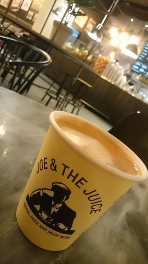 Nofilter Close-up Indoors  Coffee Coffee Time Coffee Cup Retro Styled Joe&thejuice Mall Of Switzerland