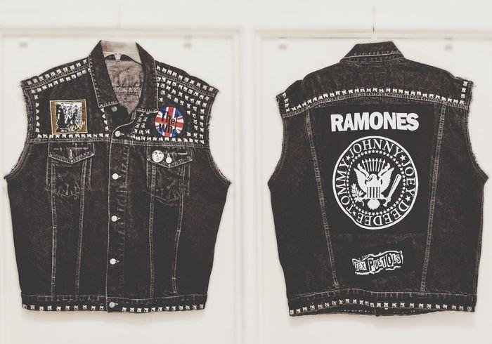 Battle Vest Ramones Sex Pistols The Clash The Who Studs