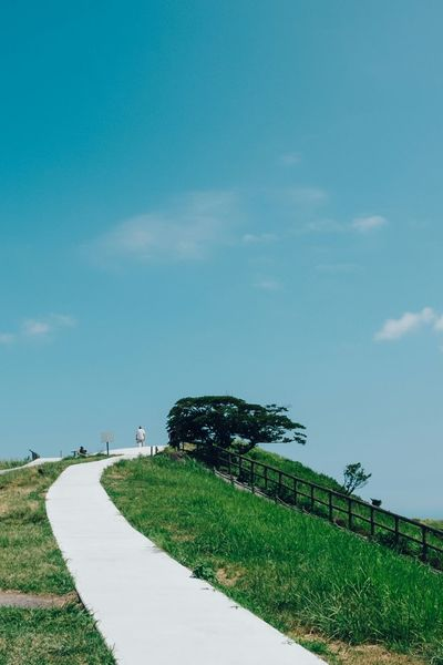 大室山 Nature Sky And Clouds Blue Sky People Watching FUJIFILM X-T1 Travel Photography