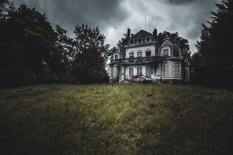 MANOR Urbex Abandoned Buildings Abandoned Places Abandoned Urbexphotography Nikonphotography Architecture Built Structure Building Exterior Plant Tree Sky History Building Cloud - Sky The Past Nature No People Grass Ruined Day