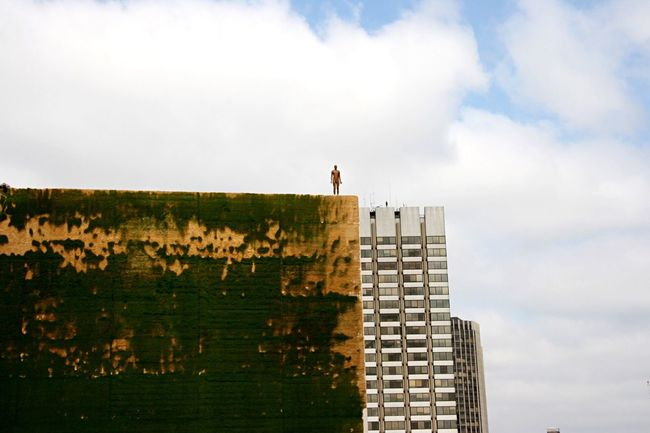 The Architect - 2016 EyeEm Awards London Man On The Roof Modern Art Building And Sky Standing Alone Brexit EyeEm LOST IN London