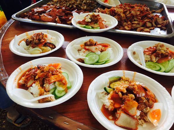 Food Food And Drink Plate Ready-to-eat Variation Still Life Healthy Eating Freshness Meat High Angle View Indoors  Rice - Food Staple Chinese Food Asian Food Serving Size Indulgence Bowl No People Chinese Takeout Table