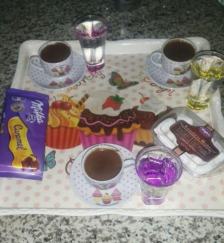 Coffee time turkish coffee 💙💙💙☕☕ Coffee Coffee Time Coffee And Sweets Kahve Turkishcoffee Relaxing Chocolate Milkandcookies Milka