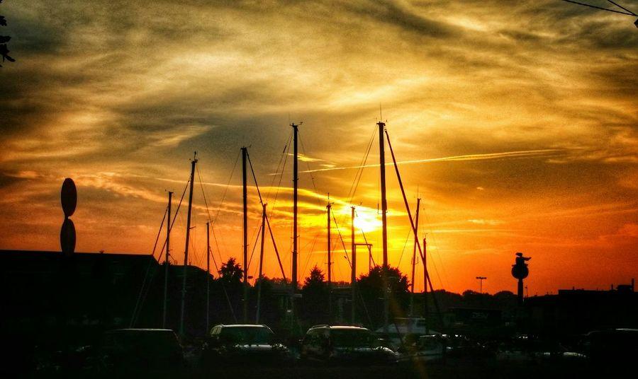 Yellow Boats Sunset Sunset_collection Sun_collection Summertime Sky_collection Sky And Clouds Nature_collection City_collection