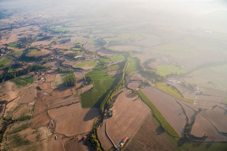 Land Landscape_Collection Aerial View Agriculture Beauty In Nature Crop  Cultivated Cultivated Land Day Farm Field Growth Hot Air Balloon Landscape Landscape_photography Nature No People Outdoors Patchwork Landscape Plowed Field Rural Scene Scenics Tranquil Scene Tranquility Wheat