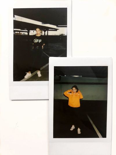 Some Polaroids 🤸🏽‍♀️📸 Polaroid Snipes One Person Photography Themes Real People Leisure Activity Child Women Lifestyles Females Casual Clothing Art And Craft