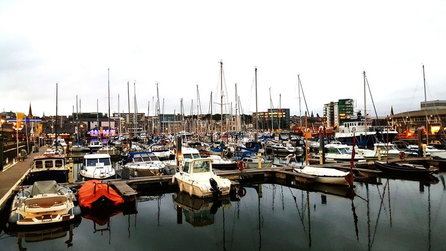 Plymouth Moored