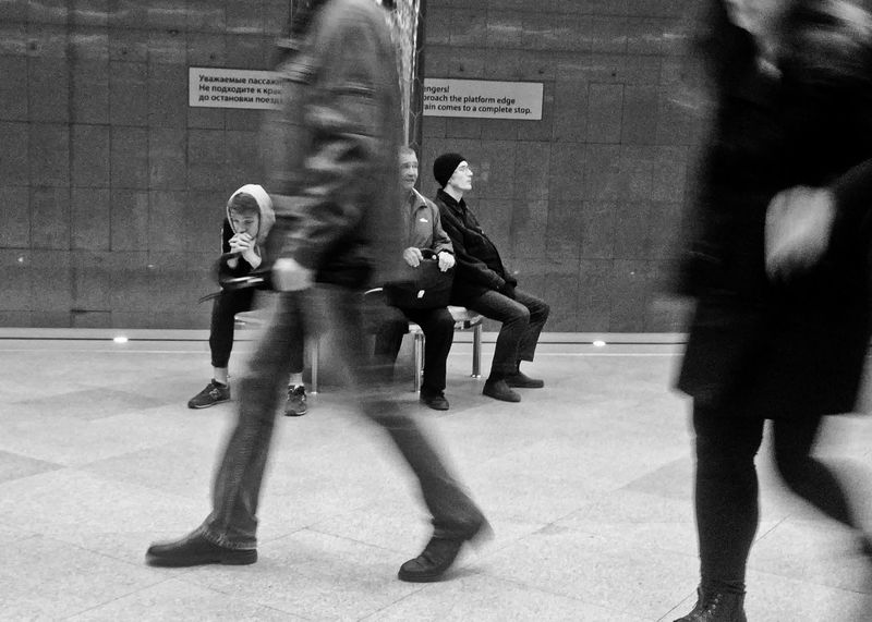 Full Length People Real People Indoors  Streetphotography Street Photography Metro Station Metro The Street Photographer - 2017 EyeEm Awards