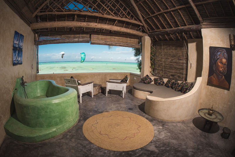 Indoors  No People Water Window Day Sea Nature Architecture Land Absence Table Beach Beauty In Nature Transparent Sky Fish-eye Lens Container Domestic Room