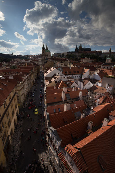 Architecture Building Exterior Built Structure City City Cityscape Cloud - Sky Czechoslovakia Day House No People Old Town Outdoors Prague Residential  Residential Building Roof Sky Tiled Roof  Town Tschechien Tschechischen Republik
