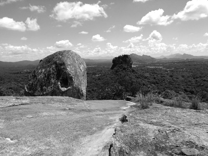 Blackandwhite Black & White Betterlandscapes Stone Sri Lanka Pidurangala Cloud - Sky Sky Nature Outdoors No People Day Landscape