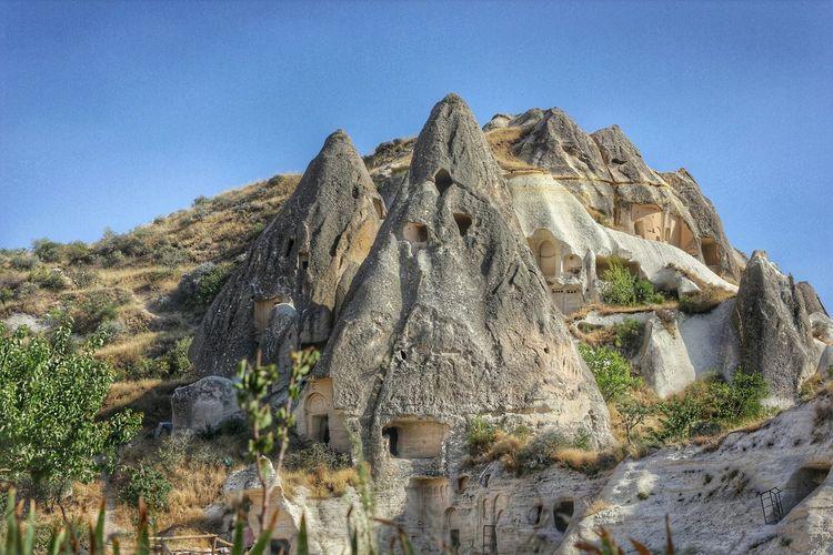 Oldcity Cave House Peribacalari Old Cities Capadoccia Göreme Turkey Nevşehir