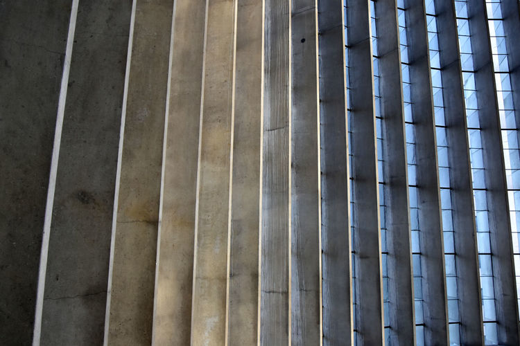 Architecture Backgrounds Built Structure Concrete Coventry Cathedral - UK Day No People Pattern Repetition Windows The Graphic City