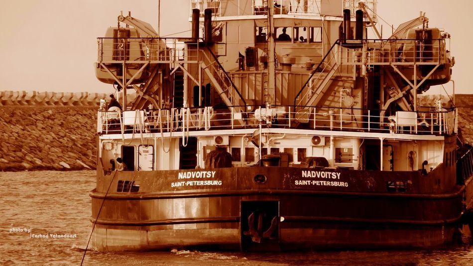 Ship Breakwater Iranian_photography Guilan_photography Iran Port Of Anzali Iran Canon Canon Sx50