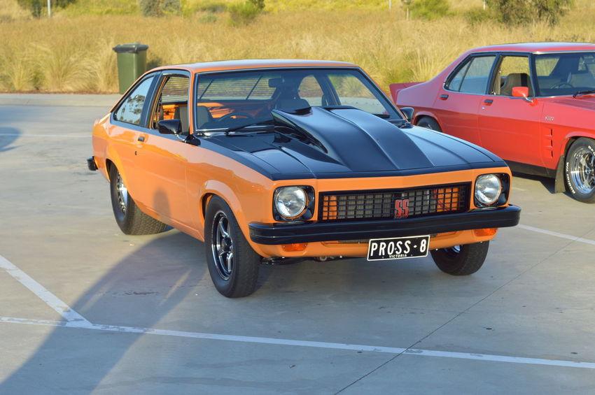 Aussie Muscle Car Big Motor Big Tyres Bonnet Car Custom Pretty Torana