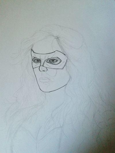 Draw Arrow tv show Arrow Canary Draw Sketch SaraLance