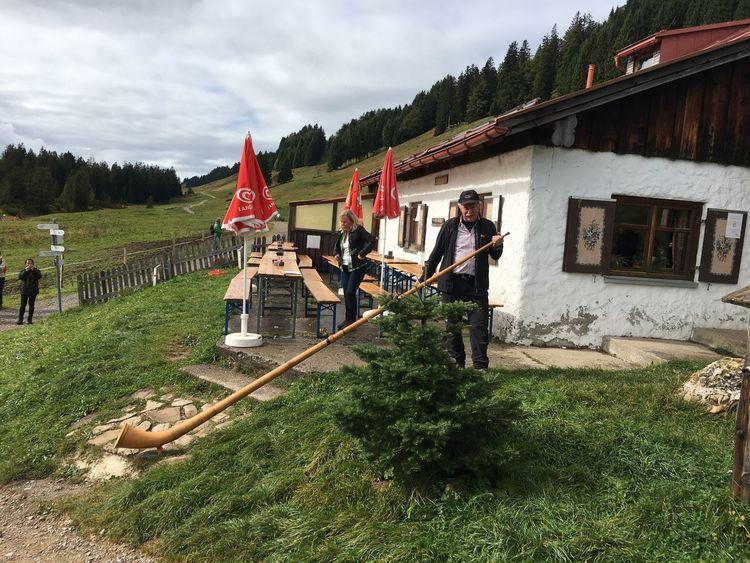 Oberstaufen Hiking Alphorn