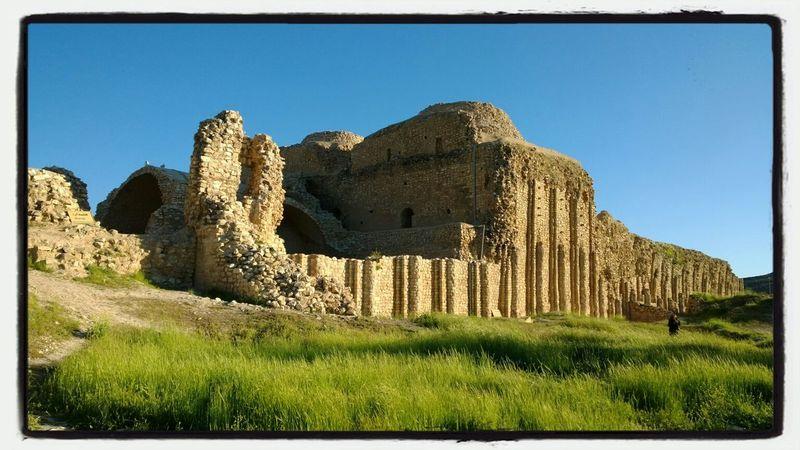 فیروز آباد کاخ اردشیر بابکان