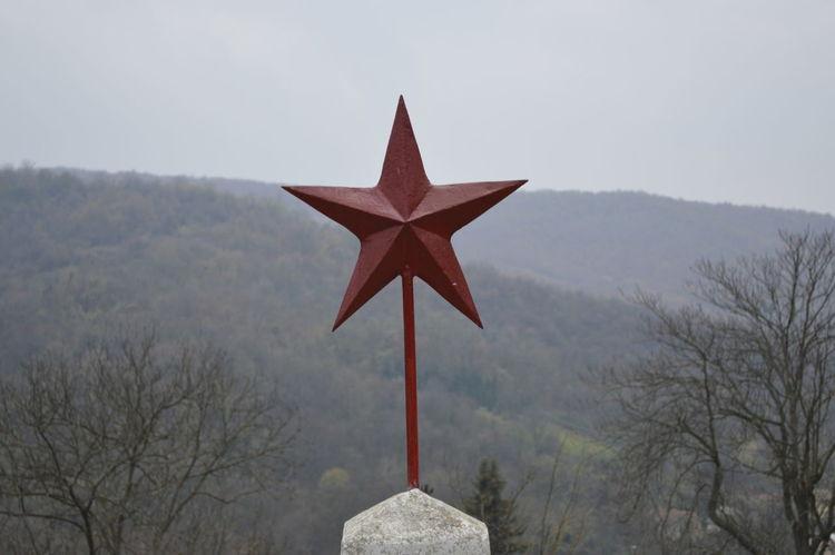 Clear Sky Communist Forrest Red Star Redstar