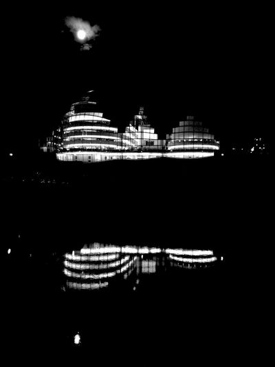 The Sage Newcastle Upon Tyne Newcastle Quayside River Tyne Cities At Night The North East Black And White Friday