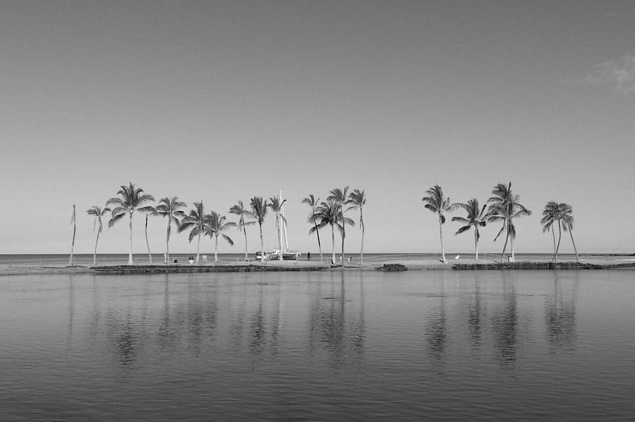 We stand alone Taking Photos Black And White Monochrome Beach Life