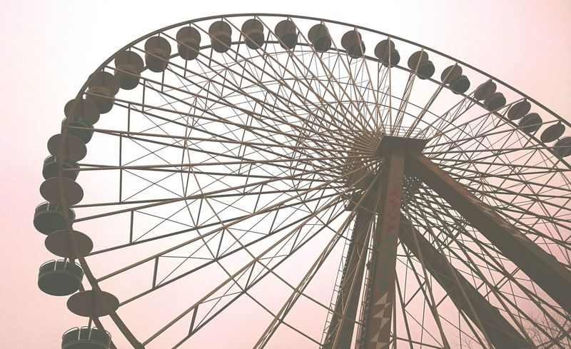 Places Roundabout Ferrywheel in Wintertime Kids Being Kids they dont care Cold Temperature Rain Wind Darkdays Laughing Screaming Fun! High From Where I Stand Showcase: February