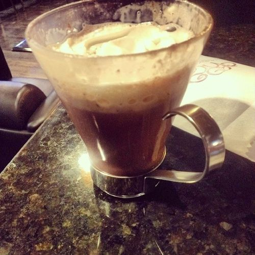 After dinner Hot Chocolate at Chocoholique Shortnorth Fancydatenight Marcellas boughy @laylalethalle
