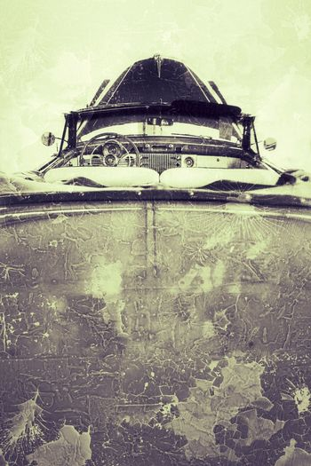 Beautiful barn find. JGLowe Restored Car Vintage Car Vintage Vintage Style Antique Car Restored Cars JGLowe Transportation Mode Of Transportation Nautical Vessel Day No People Outdoors Water Old Weathered Textured  Retro Styled