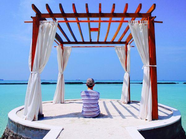 Enjoying the sun and the sea Maldives First Eyeem Photo The Adventure Handbook