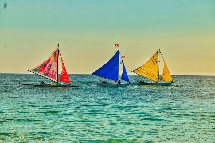 Boracay Summertime Sailing Colors Philippines