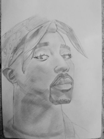 2Pac My Draw ♥ Draws Draw Drawing 2pac 2pac <3