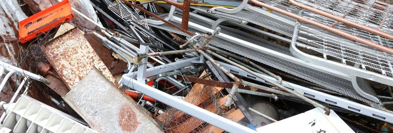 Heap Of Damaged Metal
